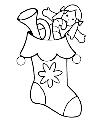 Small Picture Best Christmas Stocking Coloring Pages To Print Archives Free Free