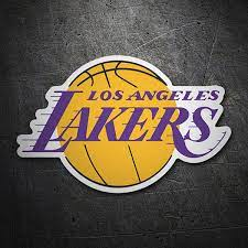 Lakers star lebron james will be changing from no. Aufkleber Nba Los Angeles Lakers Schild Webwandtattoo Com