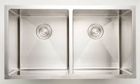 American Imaginations 32 L X 18 W Double Basin Undermount Kitchen
