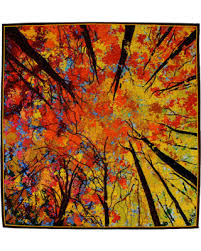 Spectacular Deal on Quilted Wall Hanging,  Looking Up  Art Quilt ... & Quilted Wall Hanging,
