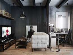 Industrial Living Room 16 Moody Dark Living Room Ideas With Strong Personality Chloeelan