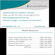 Billing Questions Health Resources Pocket Card