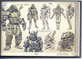 its concept art from teh fo3 art book i want the two particular armors ingame