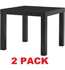 sofa table ikea. Ikea Table End Side Black (2 Pack) Lack Sofa Table Ikea