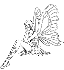 Small Picture Fairy Coloring Pages Free Printable Coloring Pages