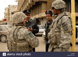 BAGHDAD - Col. Byron Freeman, the commander of the 8th Military Stock Photo  - Alamy