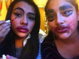 makeup tutorial chola ratchet clown