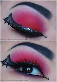 devil s wing eye makeup cute idea for something spontaneously diffe d eyewings