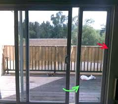 installing sliding patio door