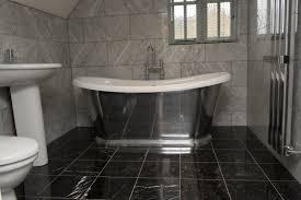 Marble Flooring Bathroom Black Marble Is The Best Choice For A Stylish Luxury Bathroom