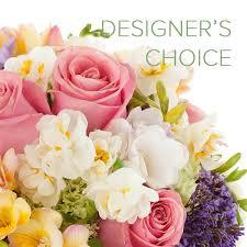 choice spring colors arrangement