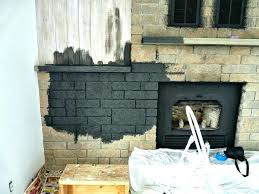 fireplace rock wall innovative ideas painted stone best on faux stones fireplac rock panels for fireplace