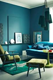 look at this blue teal emerald and green room it looks absolutely harmonious