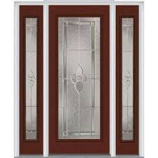 exterior front doors with sidelightsSingle door with Sidelites  Steel Doors  Front Doors  The Home