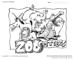 Small Picture Zoo Animals Coloring Pages Ppinewsco