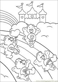 Small Picture Care Bears 026 Coloring Page Free Care Bears Coloring Pages