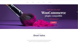 makeup artist wordpress theme