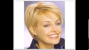 Short Haircuts For Women Over 50 With Fine Thin Hair Youtube
