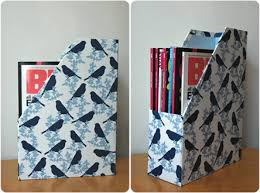 Magazine Holder From Cereal Box Cereal Box Magazine Holder take 100 ETA my bad this isn't a DIY 58