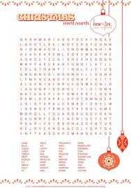 Christmas Template For Word Cool Christmas Word Search Printable Kids Holiday Party Pinterest