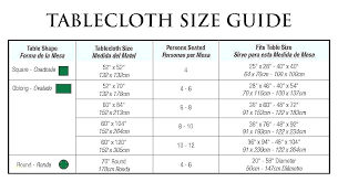 table cloth chart oblong table cloth tablecloth x size chart table cloth