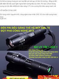 Đèn pin siêu sáng Đèn pin XML TS6 Chống nước cực tốt chiếu xa lên tới 400m  Tặng kèm pin sạc và hộp đựng