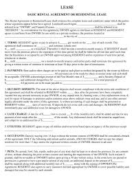 Residential Lease Contract 015 Template Ideas Residential Lease Agreements Unbelievable