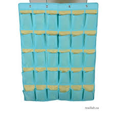 Hanging Pocket Chart Magideal Protable 30 Pockets Classroom Hanging Organizer Pocket Chart For Cell Phones Business Cards Holder Skyblue As Described B01kuql5g6