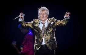 <b>Rod Stewart</b> appears to perform Nazi salute and assault security ...