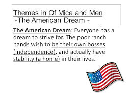 Essay Questions On The American Dream