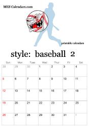 Customizable Calendar 2015 Printable Baseball Calendars Customizable Sports Calendars