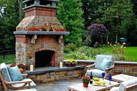 outdoor fireplace ideas with brick image of indoor and outdoor fireplace design outdoor brick fireplace design plans