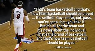 Basketball Team Quotes Gorgeous 48 Inspiring LeBron James Quotes About Success Wealthy Gorilla