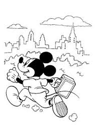 Small Picture Mickey Mouse Football Coloring Page Printable Coloring Pages