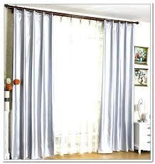 sliding door curtain rod curtain for sliding door double door curtains door design sliding door double