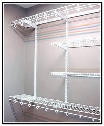 closetmaid shelf track s closetmaid shelftrack 20 in bracket