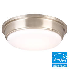 Kitchen Light Fixtures Flush Mount Flushmount Lights Ceiling Lights The Home Depot Flush Mount