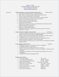 Criminal Investigator Resume Nfcnbarroom Com