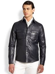 mens leather shirts gallery men s leather shirt