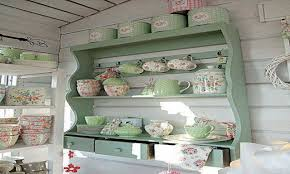 Shabby Chic Country Kitchen Bookcase Antique Shabby Chic Kitchen French Country Kitchen