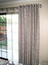 slider door curtain rods best french doors images on blinds within double sliding door curtains plan