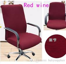 office chair covers. Simple Covers Slipcovers Cloth Office Chair Pads Removable Cover Stretch Cushion  Resilient Fabric Inside Covers E
