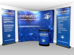 Corporate Display Stands Impressive Corporate Large Display Stand Pop Up Banners And Podium Used At