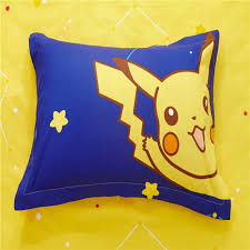 pikachu bed sheets