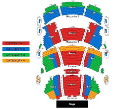 Greek Seating Chart Detailed Greek Theater Los Angeles Seating Chart With Seat Numbers