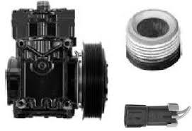 york compressor. series: et210l-25246c type: new clutch dia.: 6 1/8 york compressor
