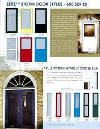 double storm doors. Double Storm Doors Aluminum Glass And Screen Full View Door Custom Made Lowes