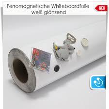 Magnetische Xxl Whiteboardfolie 133cm Breit Weiß Glänzende