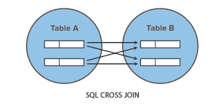 Types Of Sql Joins Venn Diagram Sql Cross Join Operation Tutorial Republic