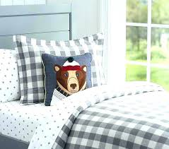 camping themed bedding kids cabin sheet sets target nursery decor
